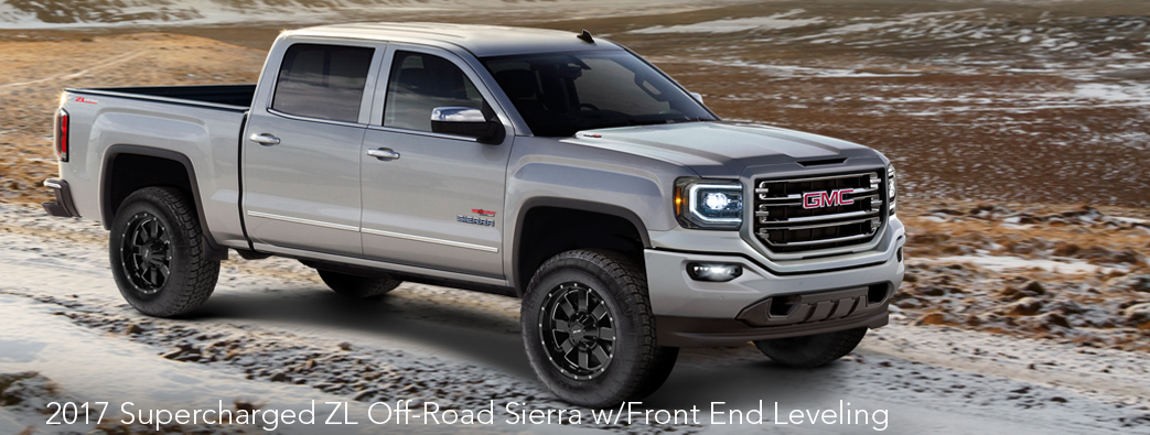 » 2017 High/Output Series 800HP ZL Off-Road Sierra w/Front End Leveling