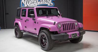 photo 1 of pink jeep for sale. Black Bedroom Furniture Sets. Home Design Ideas